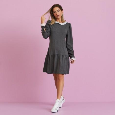 Vestido moleton mescla ref 44179965