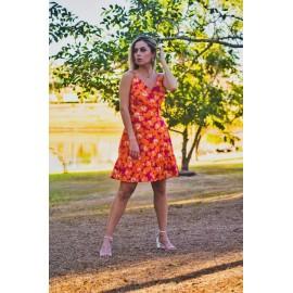 vestido curto estampado ref 44159154