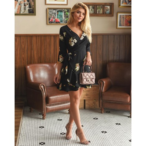 vestido curto tranpassado ref 44169885