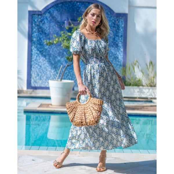 vestido camponesa -floral ref 44159218