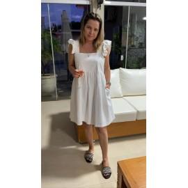 Vestido linho Ref 30210159