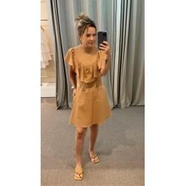 Vestido Tricoline -30170152