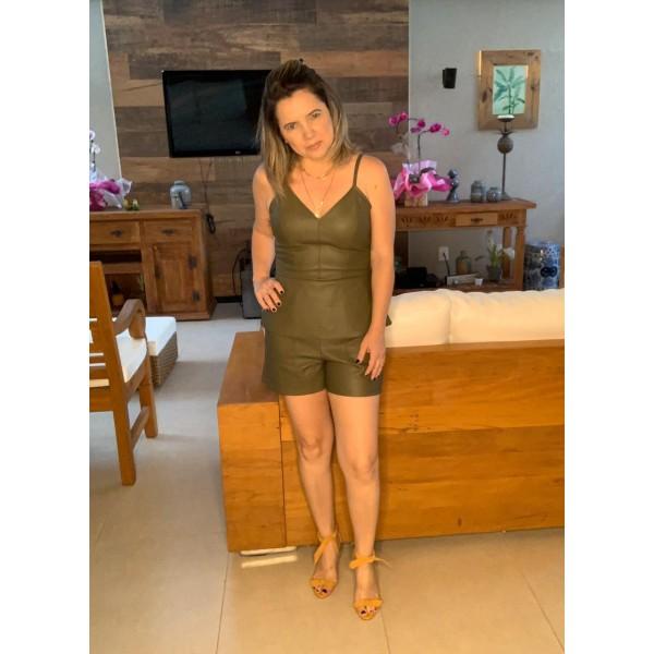 Blusa couro ( Verde ) ref 4489930