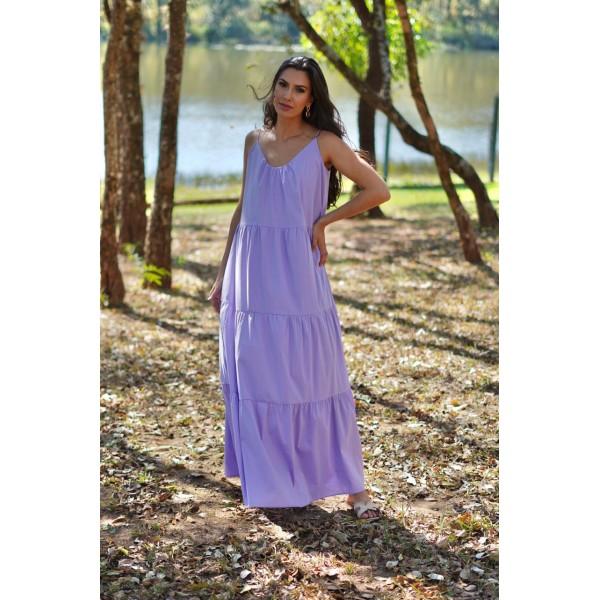 Vestido longo lilas ref 44189115