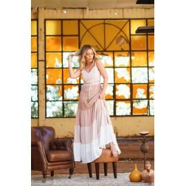 vestido longo mescla Ref 44196240